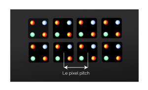 totem led pixel pitch